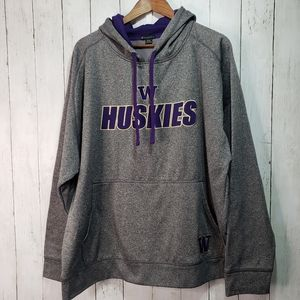 Champion Elite UW Huskies Pullover Sweatshirt 2XL
